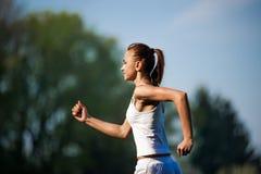 Тренировка женщины спорта Стоковая Фотография RF