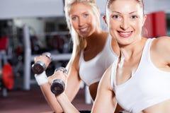 Тренировка женщин пригодности Стоковое фото RF