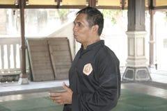 Тренировка и действие Pencak Silat Perisai Diri Стоковые Фотографии RF