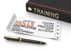 Тренировка и развитие Стоковые Изображения
