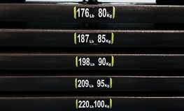 Тренировка и тренировка сопротивления Стоковое фото RF