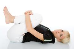 Тренировка йоги Стоковые Фото