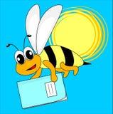 тренировка книги пчелы Стоковое Изображение