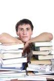 тренировка книг Стоковые Фотографии RF