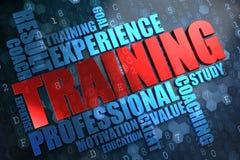 Тренировка. Концепция Wordcloud. Стоковые Изображения