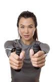 Тренировка круглой резинкы сопротивления Стоковое Фото