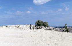 Тренировка на пляже Стоковые Изображения