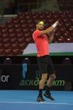 Тренировка на Grigor Dimitrov Стоковая Фотография RF