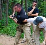 тренировка огнестрельных оружий курса стоковое изображение rf
