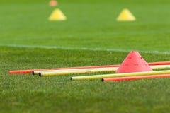 Тренировка профессионального футбола Стоковая Фотография RF