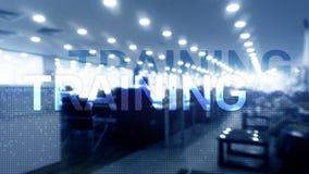 тренировка развитие личное Дело и образование, концепция обучения по Интернетуу стоковая фотография