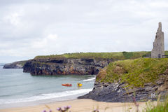 Тренировка спасательной службы моря и скалы Ballybunion Стоковое Изображение