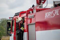 Тренировка спасательных служб Стоковые Изображения RF