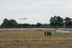 Тренировка спасательных служб Стоковая Фотография RF
