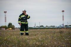 Тренировка спасательных служб Стоковое фото RF