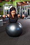 тренировка спортсмена стоковое фото rf