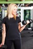 тренировка спортсмена Стоковые Фотографии RF