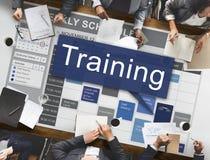 Тренировка тренирующ концепцию развития менторства стоковые фотографии rf