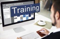 Тренировка тренирующ концепцию развития менторства стоковое изображение rf