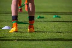 Тренировка футбола Стоковые Изображения RF