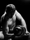 тренировка человека Стоковая Фотография RF