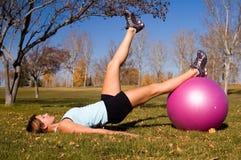 тренировка шарика Стоковые Изображения RF