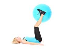 Тренировка шарика Стоковое фото RF