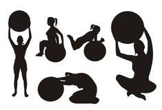тренировка шарика Стоковые Фото