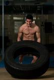 Тренировка Crossfit Стоковые Фото