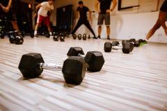 Тренировка weightloss разминки Abs Стоковое Изображение RF