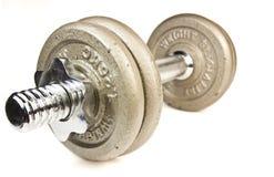 Тренировки веса гантели оборудования тренировки. Стоковая Фотография RF