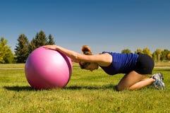 тренировки шарика Стоковая Фотография RF