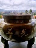 Тренога виска Nan Tien стоковое изображение