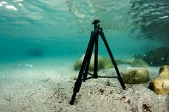 тренога подводная Стоковое Изображение