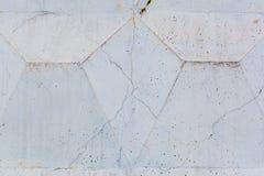 трескает старую стену текстуры Стоковые Изображения RF