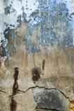 трескает старую стену Стоковое Фото