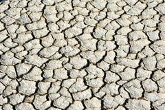 трескает сухую почву Стоковые Изображения RF