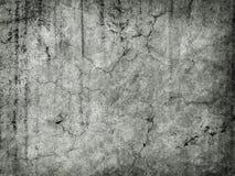 трескает grungy старую стену Стоковое Фото