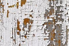 Трескающ, облупленная краска Стоковое Фото