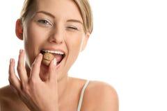 треская женщина грецкого ореха Стоковое Фото
