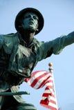 Треска накидки солдата мира i мемориальная Стоковая Фотография RF