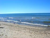 треска плащи-накидк 01 пляжа Стоковое Изображение RF