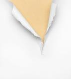 Треснутая бежевая бумажная предпосылка стоковое фото