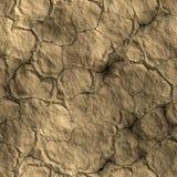 треснутая глина Стоковое Фото