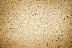 треснутая грязь сухая Стоковое Изображение