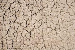треснутая грязь Стоковое Изображение