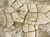 треснутая земля Стоковое Изображение RF