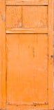 треснутая краска двери старая Стоковое Изображение RF