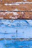 Треснутая краска, конец-вверх Стоковые Изображения RF