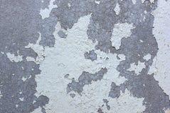 Треснутая краска на бетонной стене Стоковая Фотография RF